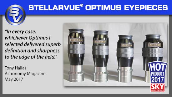 Stellarvue Optimus Eyepieces