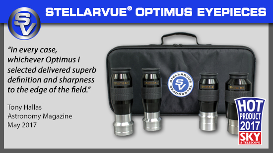 Stellarvue Optimus Eyepieces